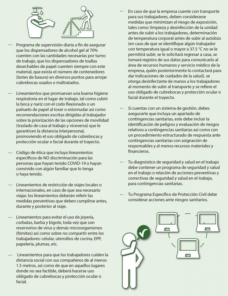 Medidas de Prevención de Contagio en la Empresa